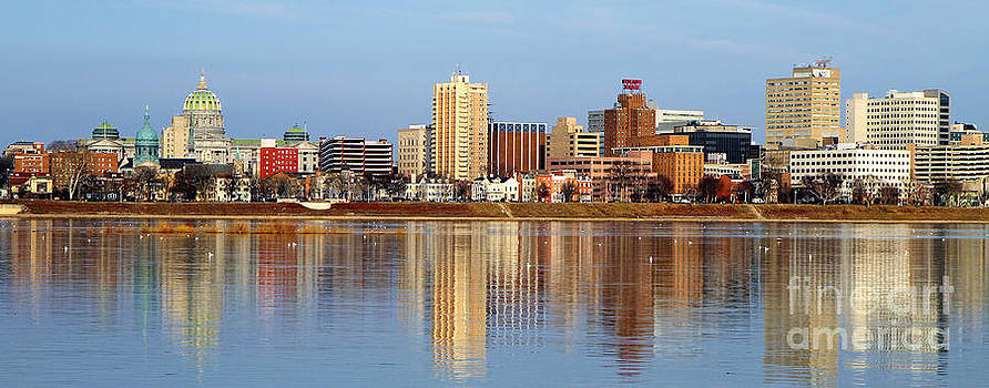 Harrisburg Reflections by Geoff Crego
