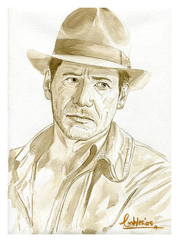 Harrison Ford by David Iglesias