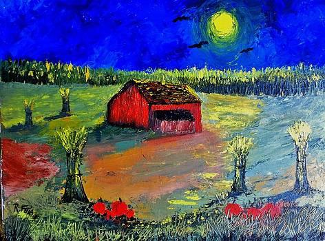 Harvest Moon by Rich Fotia