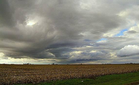 Harvest Sky by Claude Oesterreicher