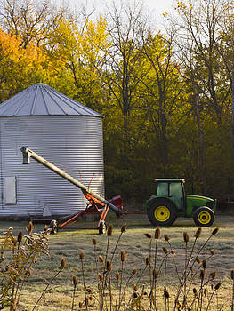 Harvest Time Indiana by Michael Huddleston