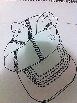 Hat Drawing by Khoa Luu