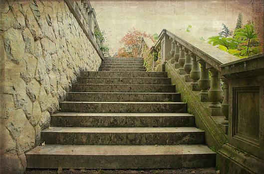 Marilyn Wilson - Hatley Castle Garden Steps