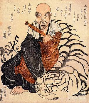 REPRODUCTION - Hattara Sonja with White Tiger