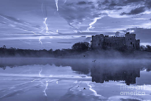 Haunted Castle of Carew Pembrokeshire Wales by Corinne Johnston