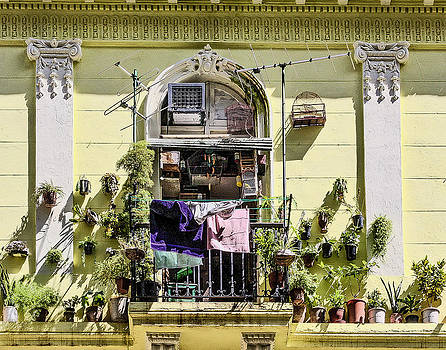 Havana Balcony by Jim Nelson