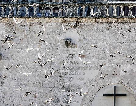 Havana Church Wall by Jim Nelson