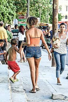 Havana Rush Hour by Jim Nelson