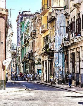 Havana Street XI by Jim Nelson