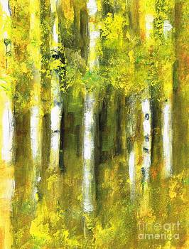 Have You Seen The Aspen by Frances Marino