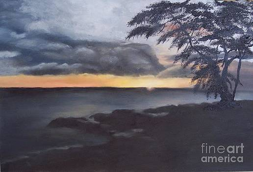 Hawiian Sunset by Lucia Grilletto