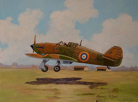Hawker Hurricane by Murray McLeod