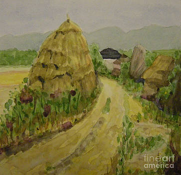 Hay Stack by Lilibeth Andre