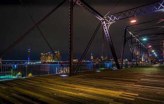 Hays Street Bridge by David Morefield