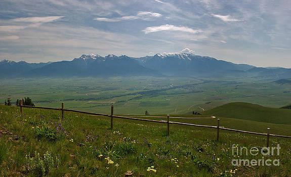 Charles Kozierok - Hazy Day Over the Flathead Valley