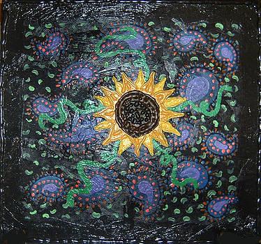 Hazy Paisley  by Yvonne  Kroupa