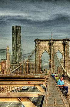 HDR Brooklyn Bridge by Mike Berry