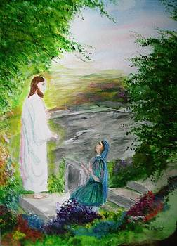 He has risen by Phyllis Miller