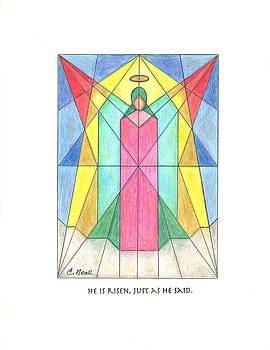 He is Risen by Carol Neal