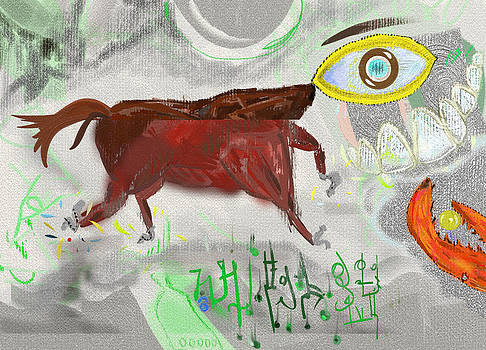 Head-eyed Horse by Pavel Ciapa