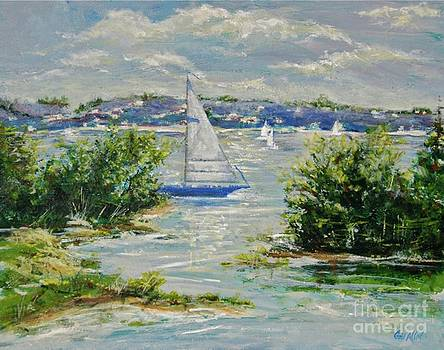 Heading Out of The Harbor by Gail Allen