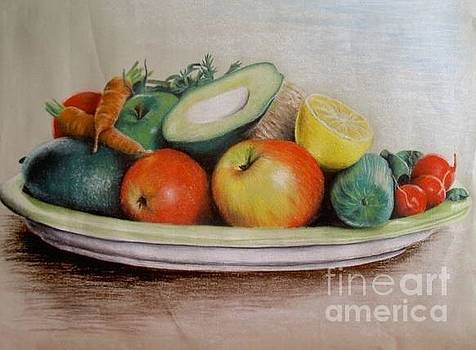 Healthy Plate by Katharina Filus