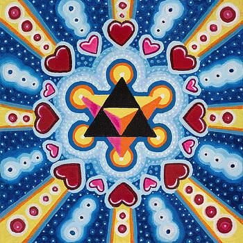 Heart MerKaBa by Christopher Sheehan