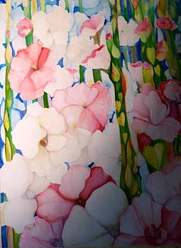 Hearts And Flowers by Margaret Pirrouette