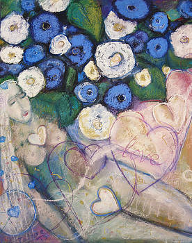 Hearts and Flowers by Tolere