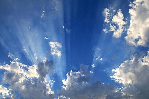 Heavenly Light by Nina Prommer