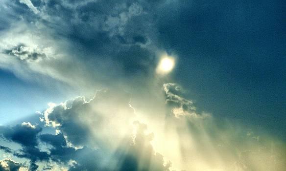 Heavens After the Rain II by Julia  Walsh