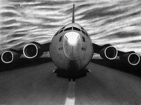 Heavy Takeoff by Vishvesh Tadsare