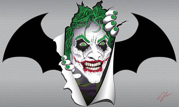 Heeeeeeeres Joker Too by James Lewis