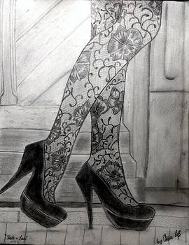 Heels and Lace by Chenee Reyes