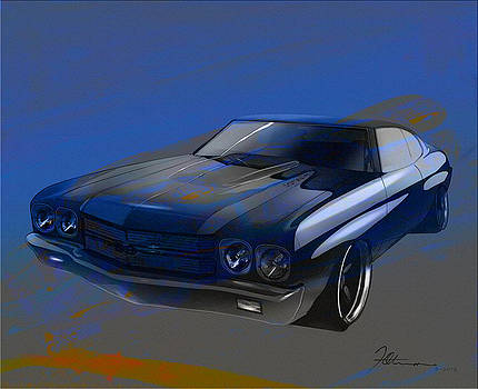 hella flush Chevelle by Fred Otene