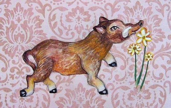 Hello Little Warthog by Nancy Mitchell