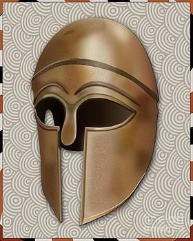 Helmet of Achilles by Michael Lovell