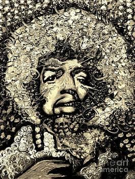 Jimi Hendrix by Michael Kulick