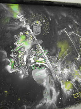 Hendrix X-ray #1 by Erik Franco