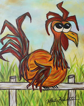 Ol' Rooster by Molly Roberts