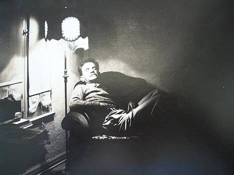 Henry Goode - Artist in Repose by Unknown Photographer