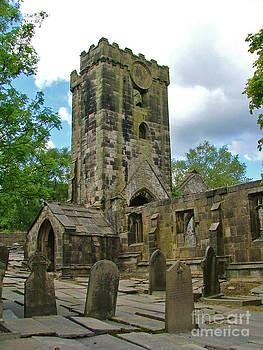 Heptonstall Methodist Chapel by Carolyn Burns Bass