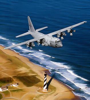 Dale Jackson - Hercules Over Cape Hatteras