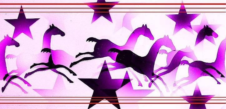 Herd of Horses by Paul Ferrara