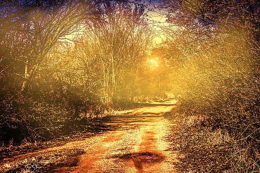 Barry Jones - Dirt - Road - Sunrise - Here Comes the Sun