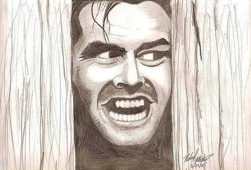 Here's Johnny by Michael Mestas