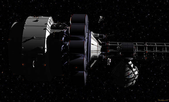 Hermes1 in route wih only stars to guide you by David Robinson