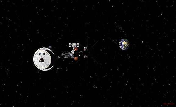 Hermes1 leaving Earth Part 2 by David Robinson