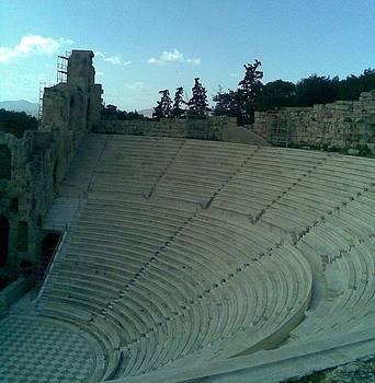 Herodion Theater by Katerina Kostaki