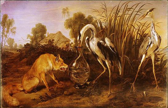Pamela Phelps - Heron and the Fox